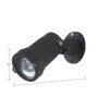 SuperScape Outdoor Lighting Adjustible Spotlight