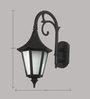 Superscape Outdoor Lighting WL1830 Exterior Wall Light