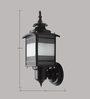 Superscape Outdoor Lighting WL1838 Exterior Wall Light