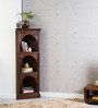 Visaya Handcrafted Book Shelf in Provincial Teak Finish by Mudramark