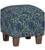 Emerson Pouffe in Multi-Color Finish by Bohemiana