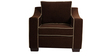 Swarthmore Sofa Set (3+1+1) in Coffee Color by ARRA