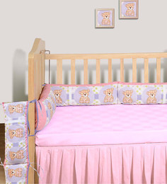 Swayam Digitally Printed Cot Bumper (Large / Std Size)