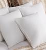 SWHF White Non Woven Fabric 12 x 12 Inch Non Woven Cushion Insert - Set of 5