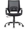 Swing Ergonomic Chair in Black Colour by VOF