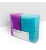 Swiss Republic Blue and Purple Cotton 28 x 59 Bath Towel - Set of 2