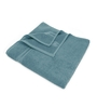 Swiss Republic Gray and Brown Cotton 28 x 59 Bath Towel - Set of 2