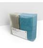 Swiss Republic Grey and Blue Cotton 28 x 59 Bath Towel - Set of 2