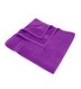 Swiss Republic Purple Cotton 28 x 59 Bath Towel - Set of 2
