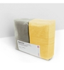 Swiss Republic Yellow and Brown Cotton 28 x 59 Bath Towel - Set of 2