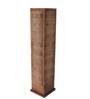 Sylvn Studio Brown Corrugated Board Crisscross Floor Lamp