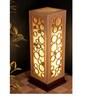 Sylvn Studio Brown Corrugated Board Froth Floor Lamp