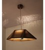 Sylvn Studio Brown Corrugated Cardboard Encapsulate Pendent
