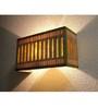Sylvn Studio Brown Corrugated Cardboard Griddle Wall Light