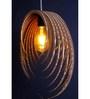 Sylvn Studio Brown Corrugated Cardboard Purge Pendent