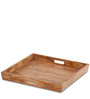 Syracuse Double Tray Coffee Table in Natural Finish by The ArmChair
