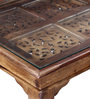 Taksh Coffee Table in Provincial Teak Finish by Mudramark