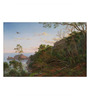 Tallenge Canvas 65 x 1 x 43 Inch Tea Trees Near Cape Schanck Victoria by Eugene Von Guerard Framed Large Digital Art Print