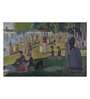Tallenge Canvas 66 x 1 x 43 Inch A Sunday Afternoon on The Island of La Grande Jatte by Georges Seurat Framed Large Digital Art Print