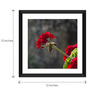 Tallenge Paper & Glass 12 x 12 Inch  Flower Framed Digital Art Prints