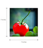 Tallenge Canvas 7 x 7 Inch  Tomato Framed Digital Art Prints