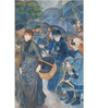 Tallenge Gallery Wrap Canvas 12 x 18 Inch Old Masters Collection The Umbrellas by Pierre-Auguste Renoirs Framed Digital Art Prints