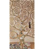 Tallenge Gallery Wrap Canvas 12 x 24 Inch Old Masters Collection The Tree of Life, Stoclet Frieze by Gustav Klimts Framed Digital Art Prints