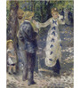 Tallenge Gallery Wrap Canvas 18 x 24 Inch Old Masters Collection La Balancoire by Pierre-Auguste Renoirs Framed Digital Art Prints