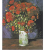 Tallenge Gallery Wrap Canvas 18 x 24 Inch Old Masters Collection Poppies by Vincent Van Goghs Framed Digital Art Prints