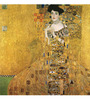 Tallenge Photographic Paper 18 x 18 Inch Old Masters Collection Adele Bloch-Bauer by Gustav Klimts Framed Digital Art Prints