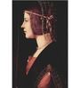 Tallenge Rolled Canvas 12 x 18 Inch Old Masters Collection Lady Beatrice D'Este by Leonardo Da Vinci Unframed Digital Art Prints