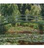 Tallenge Rolled Canvas 18 x 18 Inch Old Masters Collection The Japanese Footbridge, Giverny by Claude Monet Unframed Digital Art Prints