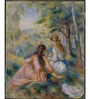 Tallenge Rolled Canvas 36 x 48 Inch Old Masters Collection Meadow by Pierre-Auguste Renoir Unframed Digital Art Prints