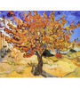 Tallenge Rolled Canvas 36 x 48 Inch Old Masters Collection Mulberry Tree by Vincent Van Gogh Unframed Digital Art Prints