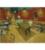 Tallenge Rolled Canvas 36 x 48 Inch Old Masters Collection Night Cafe by Vincent Van Gogh Unframed Digital Art Prints