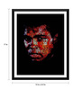 Tallenge Paper 12 x 0.5 x 17 Inch Digital Art Muhammad Ali Impossible Is Nothing Framed Digital Poster