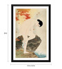 Tallenge Paper 15 x 0.5 x 24 Inch Japanese Art Shinsui It ? Yu No Ka The Fragrance of A Bath 1930 Framed Digital Poster