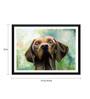 Tallenge Paper 17 x 0.5 x 12 Inch Man's Lovely Pet Framed Digital Poster