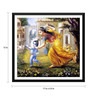 Tallenge Paper 17 x 0.5 x 12 Inch Mother Yasoda Chases Krishna Framed Digital Poster