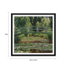 Tallenge Paper 18 x 0.5 x 18 Inch Claude Monet The Japanese Footbridge Giverny Framed Digital Poster