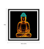 Tallenge Paper 18 x 0.5 x 18 Inch Digital Art Buddha Framed Digital Poster