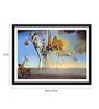 Tallenge Paper 24 x 0.5 x 17 Inch Salvador Dali The Temptation of St. Anthony Framed Digital Poster