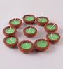 Tanariri Hastakala Multicolour Diya - Set of 10