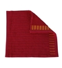 Tangerine Reds Cotton 12 X 12 Face Towels - Set of 4
