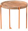 Pagosa Set of Tables in Natural Sheesham Finish by Bohemiana
