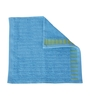 Tangerine Blue Cotton 12 X 12 Face Towels - Set of 4