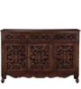Windsor Three Door Sideboard in Provincial Teak Finish by Amberville