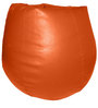 Teardrop Bean Bag (With Beans) in Orange Colour by Feel Good