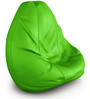 Teardrop Bean Bag Cover without Beans in Green Colour by ExclusiveLane