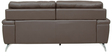 Three Seater Half Leather Sofa in Brown Colour by Star India